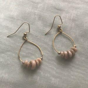 Jewelry - Beaded loop earrings